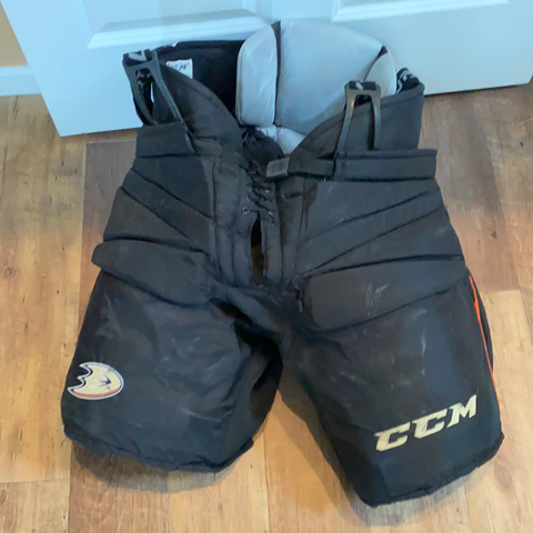 Used CCM HG14C Goalie Pants - Fit 3 - XL - Ducks