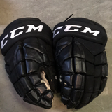 "CCM HGP14 Black Gloves - 14"" - G16"
