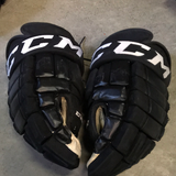 "CCM HG 98 Black Gloves - 14"" - G12"