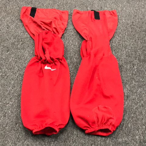 Used OSU Nike Red Practice Socks - Regular