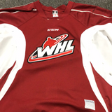 Used WHL CCM Maroon Practice Jersey - 58