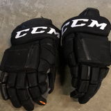 "CCM HG 12 Black Gloves - 14"" - G99"