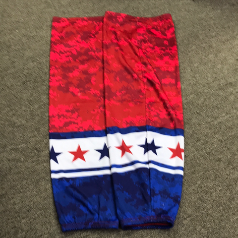 Used Red,White And Blue Socks - 31""