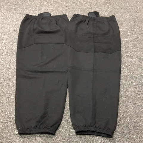 Used OSU Bauer Black Practice Socks - L/ XL