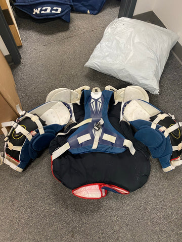 Used Bauer 1S Pro Goalie Chest Protector - Large