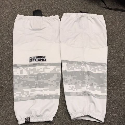 New OSU Gray Military Game Socks - L/ XL
