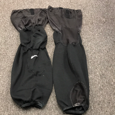 Used OSU Nike Black Practice Socks - Regular