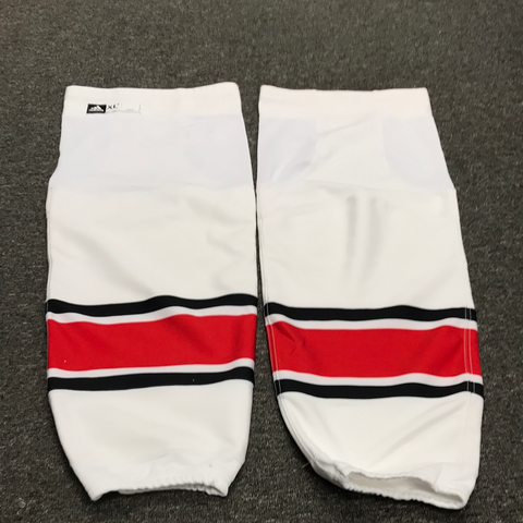 New Carolina Hurricanes Adidas White Game Socks - X-Large +