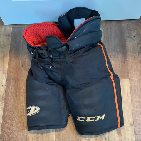 Used CCM HP45 Hockey Pants - XL+1 - Ducks