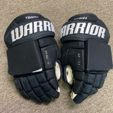 "Game Used Troy Terry Warrior Alpha Gloves - 14"" - Ducks"
