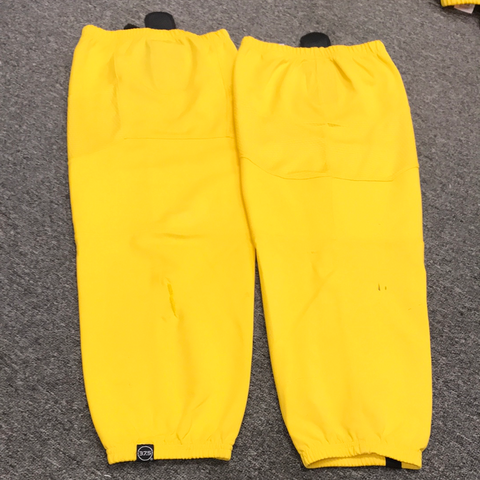 Used OSU Bauer Yellow Practice Socks - L/XL