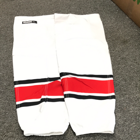 New Carolina Hurricanes Reebok White Game Socks - X-Large