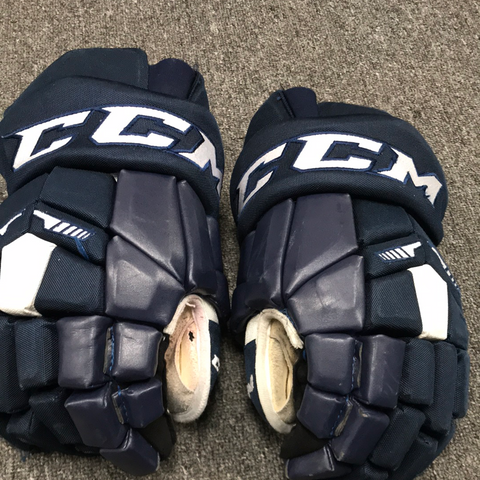 "CCM HG42 blue gloves - 14"" - G42"