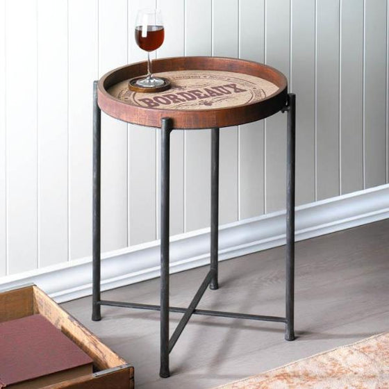Bordeaux Side Table