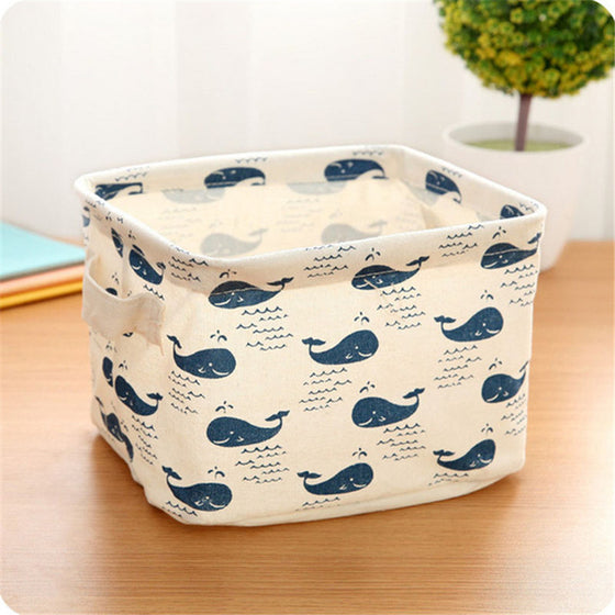 Rectangular Fabric Storage Basket