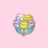 Basket Of Kittens Pin