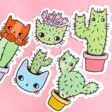 Catcus Sticker Set