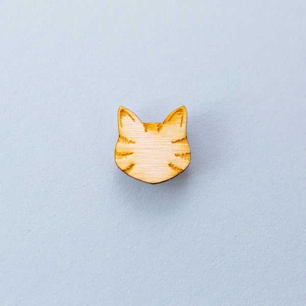 Little Tabby Cat Lapel Pin