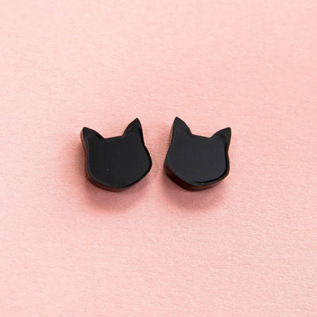 Little Black Cat Pendant