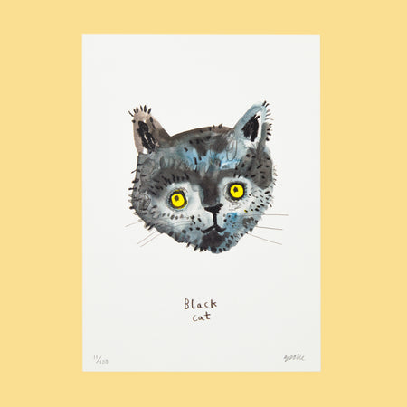 Cat In The Dark Print