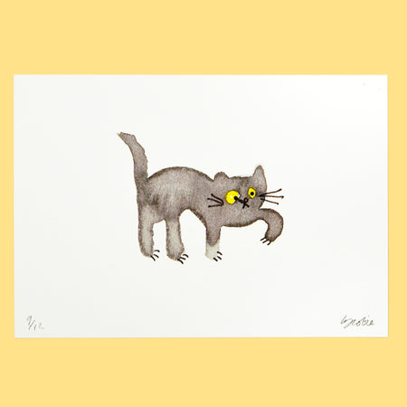 Catisse Cat Lady Print