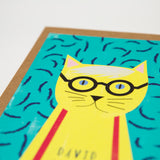 David Catney Cat Card
