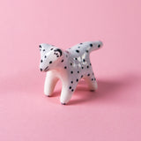 Snow Leopard Ceramic