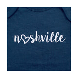 Little Bits Nashville Love Nash Onesie