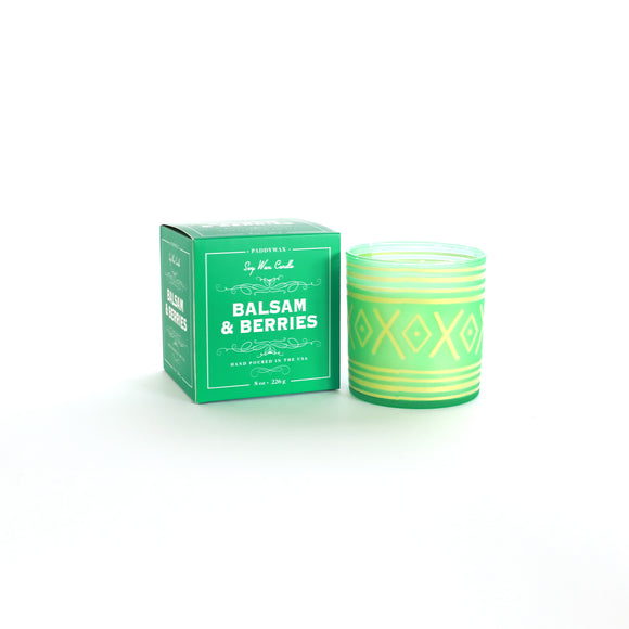 Paddywax 8oz. Glee Holiday Candle