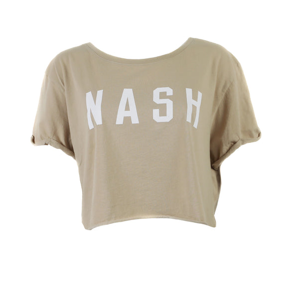 NASH Collection Crop Porter Tee