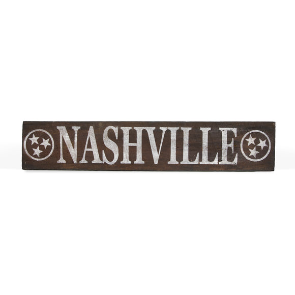 Sign Niche Nashville Reclaimed Wood Sign