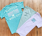 Nashville Music City Pride Short Sleeve Tee