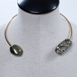 Seraphine Design Double Pyrite Choker Necklace