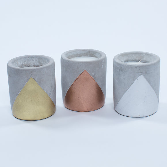 Paddywax Urban Concrete Candle