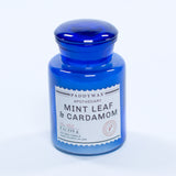 Paddywax 8oz. Blue Apothecary Glass Candle