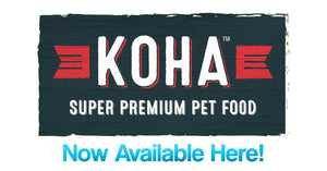 Koha Premium Pet Food Pepperell Massachusetts PET-icure Pet Grooming Dog Grooming Cat Grooming Peticure