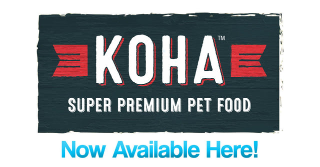 Koha Premium Pet Food Pepperell Massachusetts PET-icure Pet Grooming Dog Cat