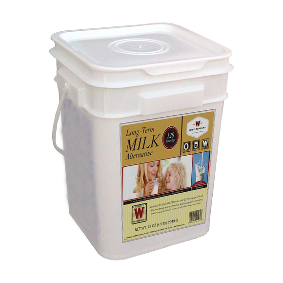 120 Serving Milk Bucket