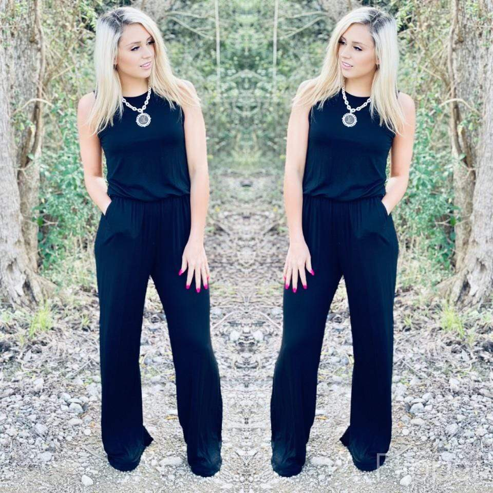 Black Jumpsuit Tops Rockin The Lace Boutique