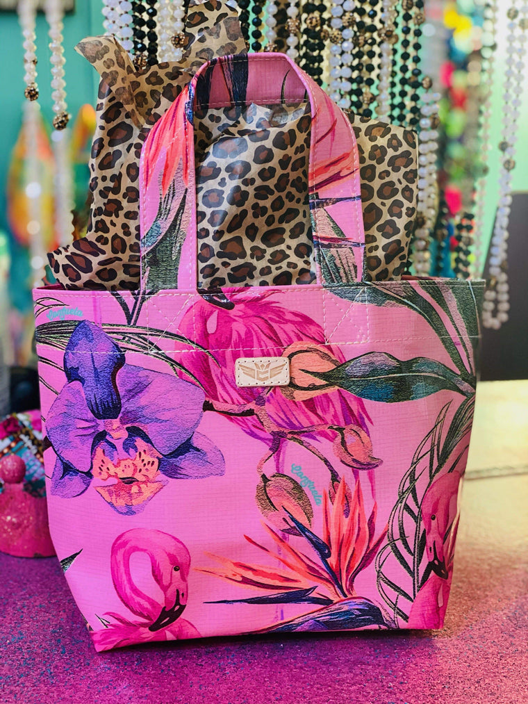 Consuela - Pink Flamingo Grab n Go Mini Fun stuff Rockin The Lace Boutique
