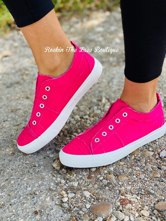 Corky's Hot Pink Babalu Footwear Rockin The Lace Boutique