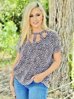 Don't Call Me Up - Leopard Tops Rockin The Lace Boutique