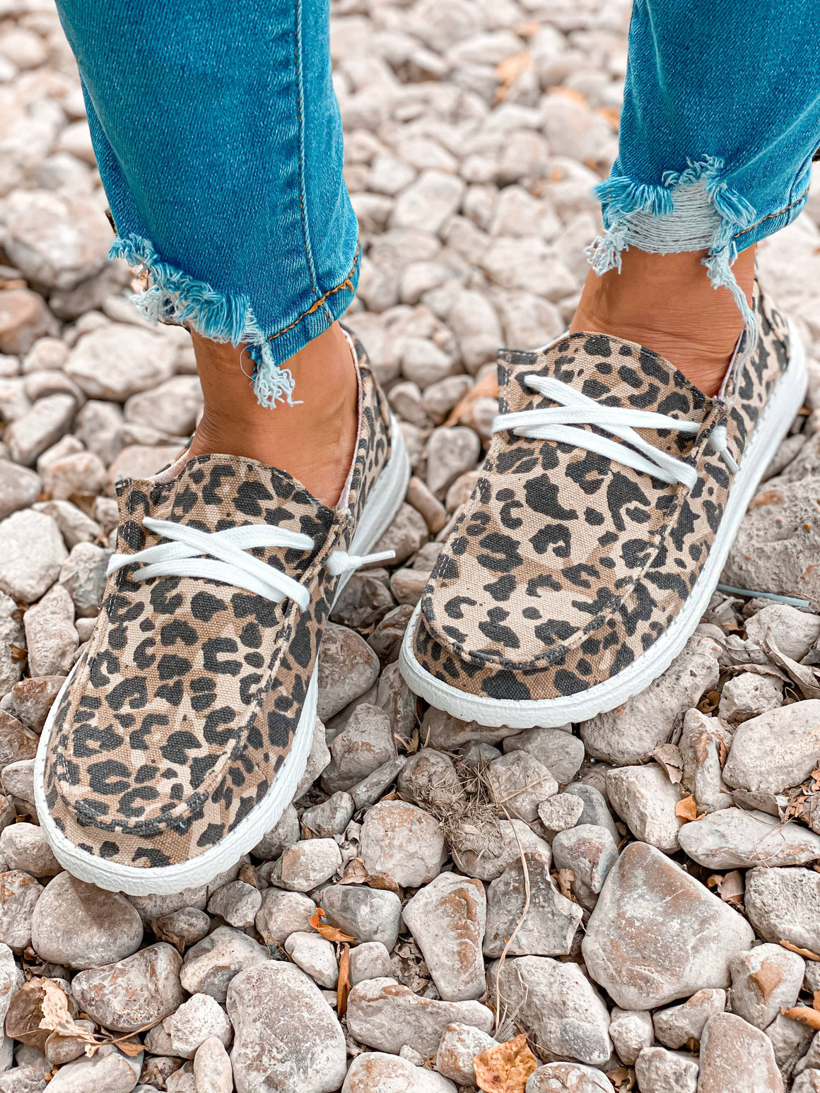 Holly Leopard Boat Shoe New Rockin The Lace Boutique
