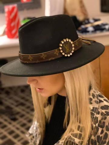 Upcycled Hat Band New Rockin The Lace Boutique