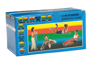 CanDo® Low Powder Exercise Band Rolls