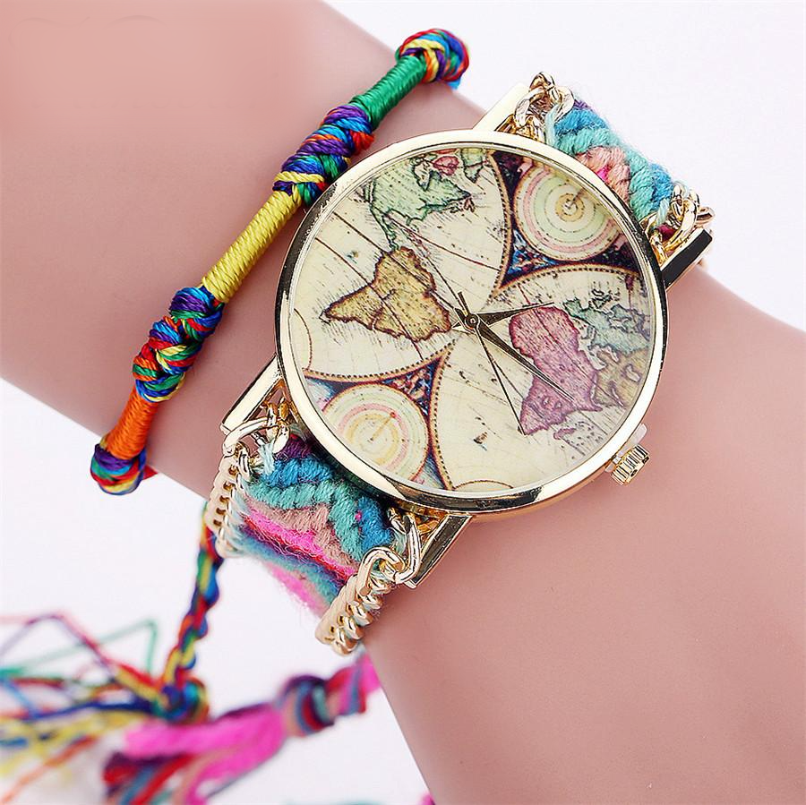 Montre Ladies WorldMap