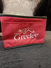 City of Greeley Lunch Bag, Burgandy