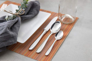 Fortessa Flatware- 20 Piece Grand City Stainless Steel