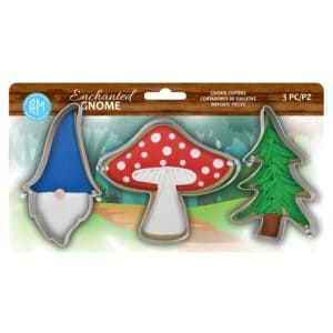 R&M International, Enchanted Gnome Cookie Cutters, 3 piece