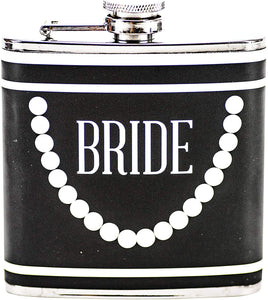 Boston Warehouse Flask- Wedding Bride